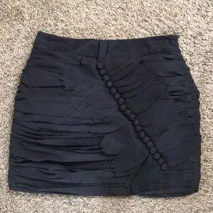 Forever 21 black mini skirt XS